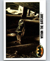 1989 Topps Batman #91 Within the Batcave