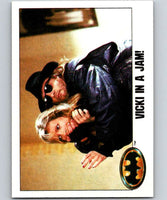 1989 Topps Batman #92 Vicki in a jam!