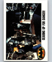 1989 Topps Batman #96 Gearing Up for Danger