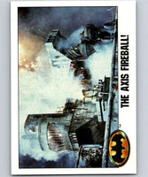 1989 Topps Batman #99 The Axis Fireball!