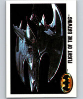 1989 Topps Batman #104 Flight of the Batwing