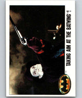 1989 Topps Batman #107 Taking Aim at the Batwing
