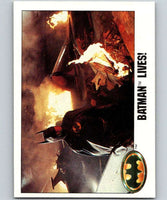 1989 Topps Batman #112 Batman Lives!