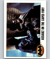 1989 Topps Batman #116 Assault on the Caped Fury