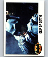 1989 Topps Batman #118 Grip of Death!