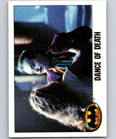 1989 Topps Batman #124 Dance of Death