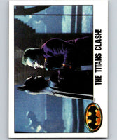 1989 Topps Batman #126 The Titans Clash!