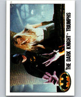 1989 Topps Batman #128 The Dark Knight Triumphs