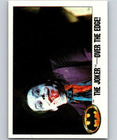 1989 Topps Batman #129 The Joker Over the Edge!