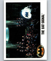 1989 Topps Batman #131 The Bat-Signal