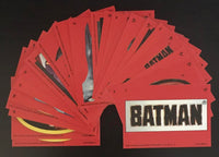 1989 Topps Batman Series 1 Sticker Set 1-22 Mint Condition