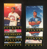 1991 Fleer Pro-Visions Lot of 7 Cards MLB Baseball Cards - Jackson, Canseco