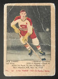 1951-52 Parkhurst #16 Dick Gamble RC Rookie Canadiens Vintage Hockey