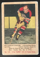 1951-52 Parkhurst #50 Roy Conacher RC Rookie Blackhawks Vintage Hockey