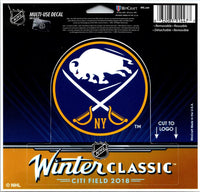 Wincraft Buffalo Sabres Winter Classic Multi-Use Decal Sticker 5