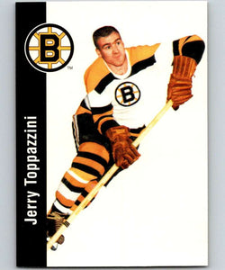 1994-95 Parkhurst Missing Link #1 Jerry Toppazzini Bruins NHL Hockey