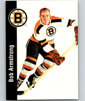 1994-95 Parkhurst Missing Link #7 Bob Armstrong Bruins NHL Hockey
