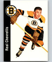 1994-95 Parkhurst Missing Link #8 Real Chevrefils Bruins NHL Hockey