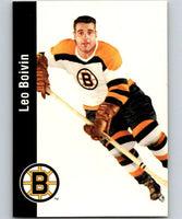 1994-95 Parkhurst Missing Link #11 Leo Boivin Bruins NHL Hockey
