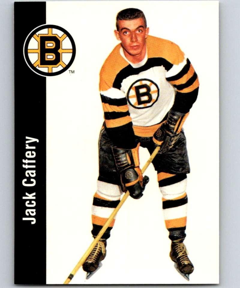 1994-95 Parkhurst Missing Link #12 Jack Caffery Bruins NHL Hockey