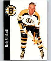 1994-95 Parkhurst Missing Link #13 Bob Beckett RC Rookie Bruins NHL Hockey