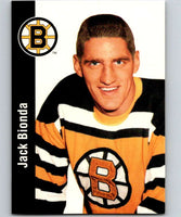 1994-95 Parkhurst Missing Link #14 Jack Bionda Bruins NHL Hockey