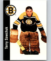 1994-95 Parkhurst Missing Link #17 Terry Sawchuk Bruins NHL Hockey