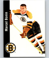 1994-95 Parkhurst Missing Link #19 Marcel Bonin Bruins NHL Hockey