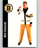 1994-95 Parkhurst Missing Link #21 Milt Schmidt Bruins CO NHL Hockey