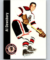 1994-95 Parkhurst Missing Link #22 Al Dewsbury Blackhawks NHL Hockey