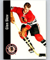 1994-95 Parkhurst Missing Link #23 Glen Skov Blackhawks NHL Hockey