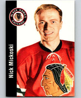 1994-95 Parkhurst Missing Link #25 Nick Mickoski Blackhawks NHL Hockey