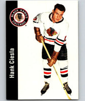 1994-95 Parkhurst Missing Link #29 Hank Ciesla Blackhawks NHL Hockey