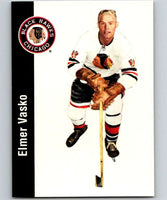 1994-95 Parkhurst Missing Link #31 Elmer Vasko Blackhawks NHL Hockey