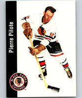 1994-95 Parkhurst Missing Link #32 Pierre Pilote Blackhawks NHL Hockey
