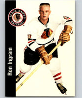 1994-95 Parkhurst Missing Link #33 Ron Ingram Blackhawks NHL Hockey