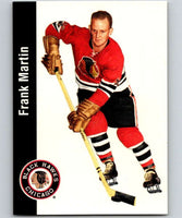 1994-95 Parkhurst Missing Link #34 Frank Martin Blackhawks NHL Hockey