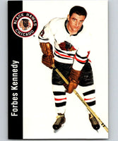 1994-95 Parkhurst Missing Link #35 Forbes Kennedy Blackhawks NHL Hockey