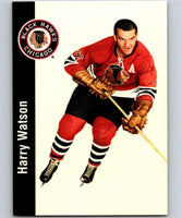 1994-95 Parkhurst Missing Link #36 Harry Watson Blackhawks NHL Hockey