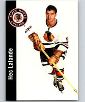 1994-95 Parkhurst Missing Link #38 Hec Lalande Blackhawks NHL Hockey