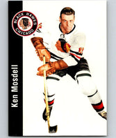 1994-95 Parkhurst Missing Link #41 Ken Mosdell Blackhawks NHL Hockey