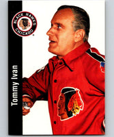 1994-95 Parkhurst Missing Link #42 Tommy Ivan RC Rookie Blackhawks CO NHL Hockey