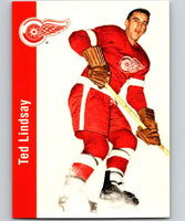 1994-95 Parkhurst Missing Link #44 Ted Lindsay Red Wings NHL Hockey