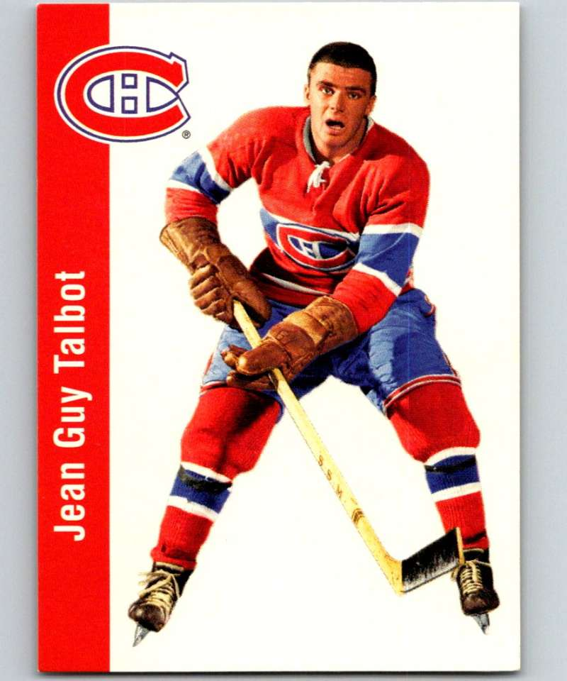 1994-95 Parkhurst Missing Link #80 Jean Guy Talbot Canadiens NHL Hockey