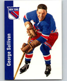 1994-95 Parkhurst Missing Link #86 George Sullivan NY Rangers NHL Hockey