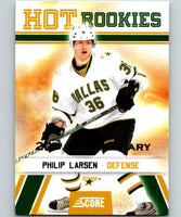 2010-11 Score 20th Anniversary #534 Philip Larsen RC Rookie MINT 06698
