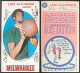 1969-70 Topps Basketball Complete Set 1-99 - Alcindor RC , Chamberlin, Checklist