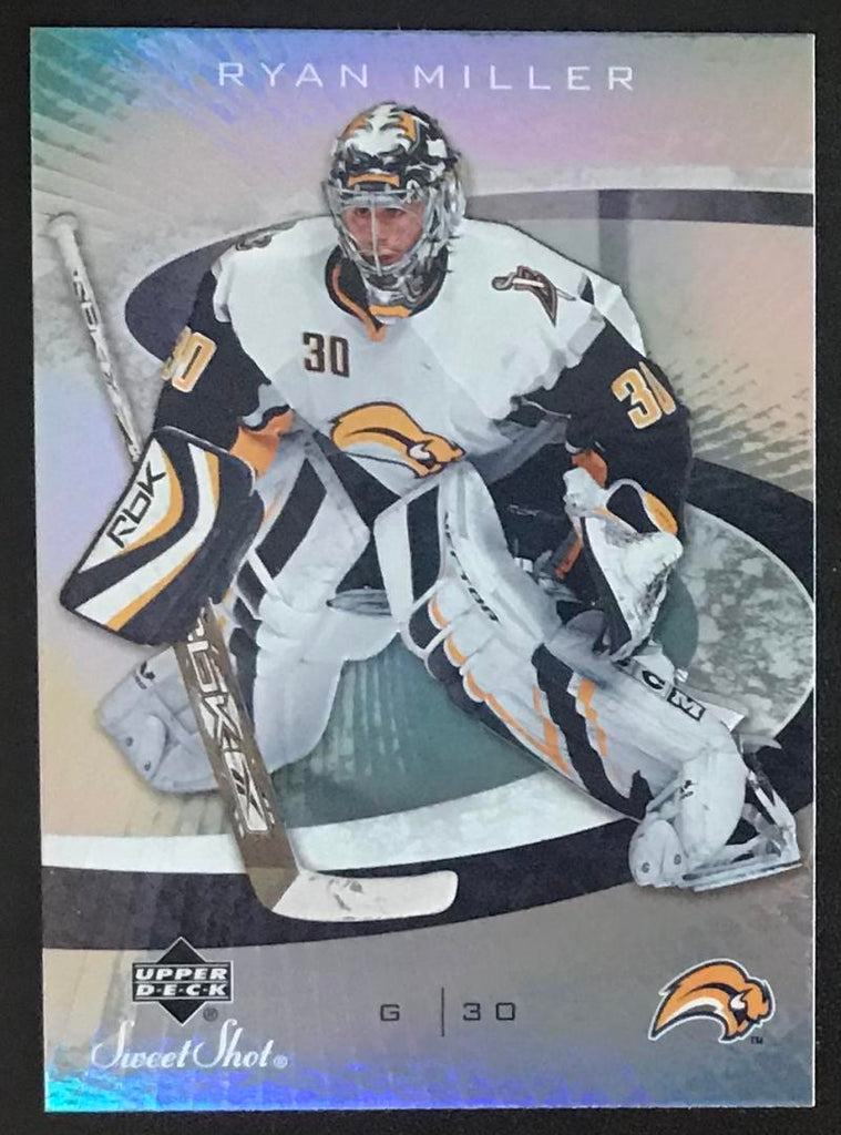 2006-07 Upper Deck Sweet Shot #13 Ryan Miller NHL MINT Sabres 06708