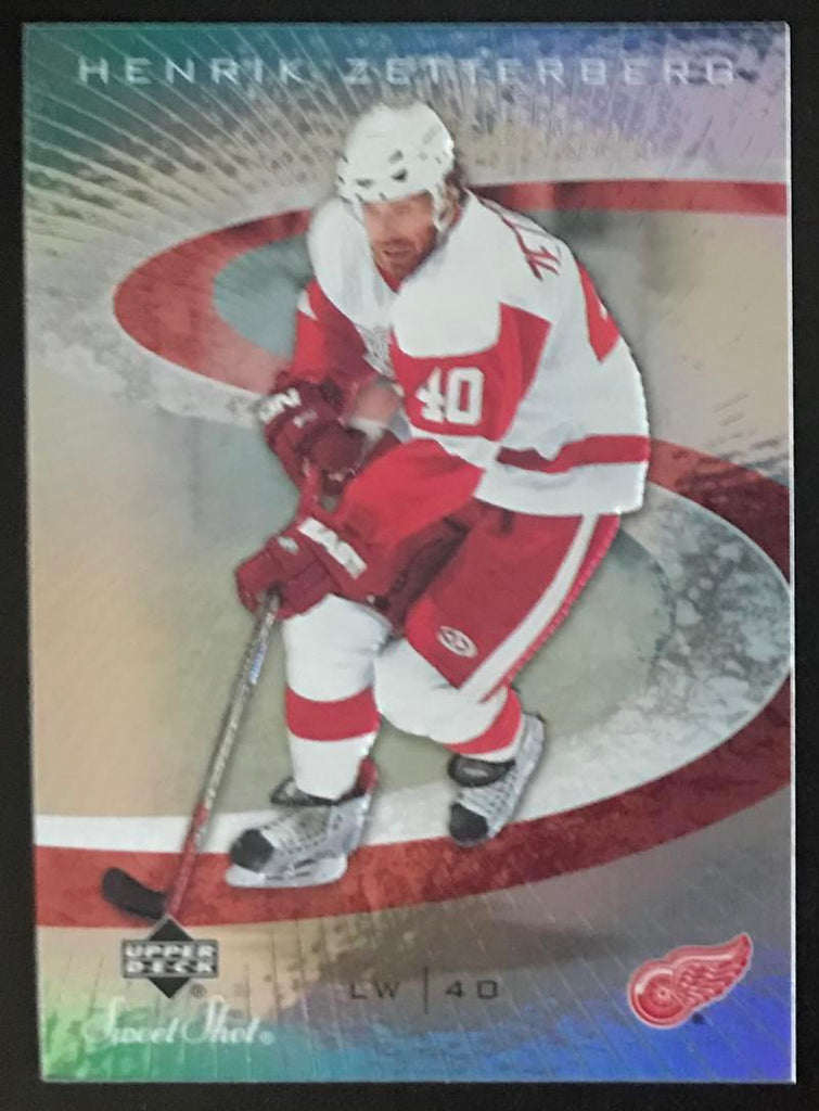 2006-07 Upper Deck Sweet Shot #37 Henrik Zetterberg NHL MINT Wings 06724
