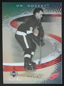 2006-07 Upper Deck Sweet Shot #41 Gordie Howe NHL MINT Wings 06728